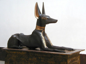 Keeper of Secrets? Anubis on his shrine