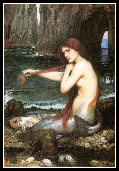 """A Mermaid"" by John William Waterhouse (1900)."