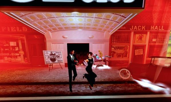 Valentino Lulu Dance Hop Bot on horse RED Cotton Club-5-22-