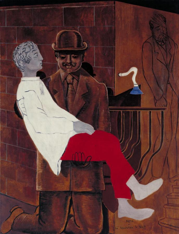 Pieta or Revolution by Night 1923 by Max Ernst 1891-1976
