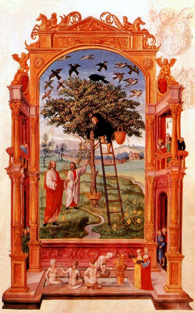 Splendor_Solis_06_Philosophers_Beside_Tree