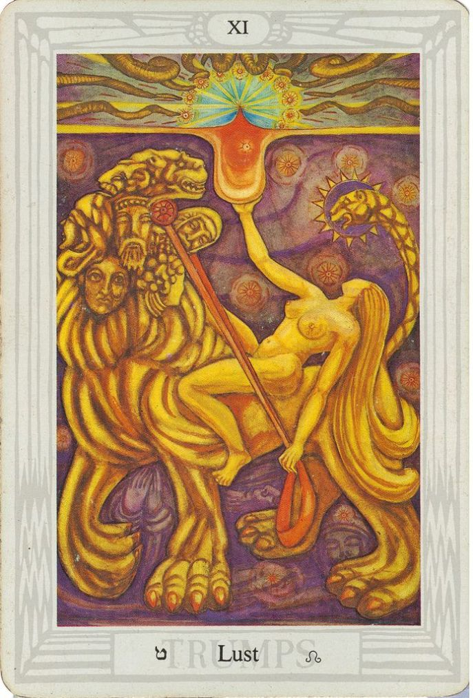 Thoth Tarot-Lady Frieda Harris with instruction by Aleister Crowley 1938-1943 published 1969
