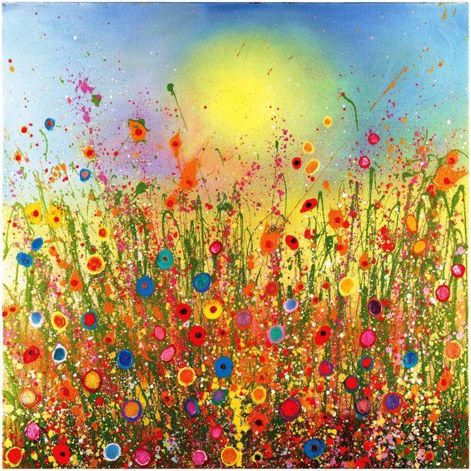 PIC WILDFLOWERS SUN