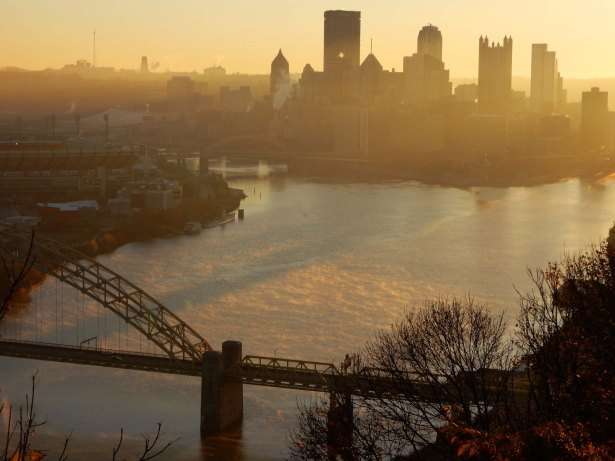 The Allegheny & Monongahela Rivers by Dan Antion